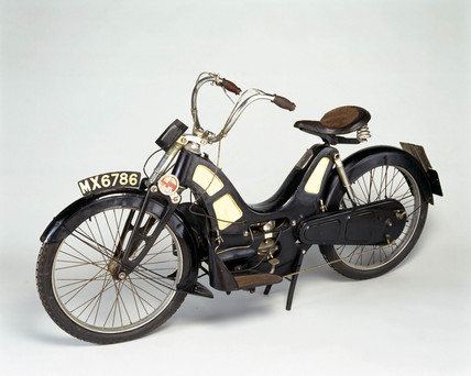 Pullin motor bicycle, 1919.