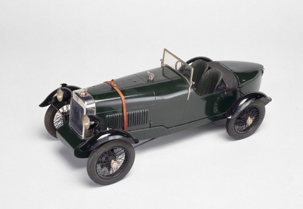 Alvis four-cylinder front wheel drive sports car, 1928.