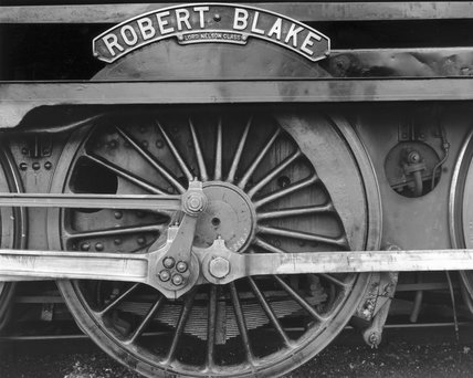 'Robert Blake' nameplate from a 'Lord Nelso
