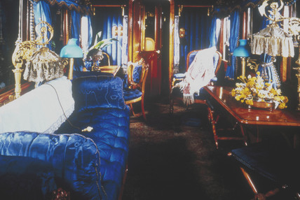 Queen Victoria's day compartment, 1895.