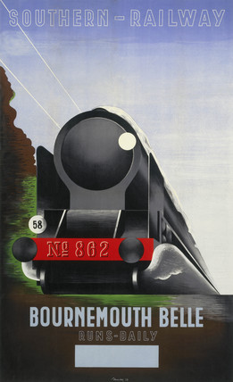 'Bournemouth Belle', SR poster, 1936.