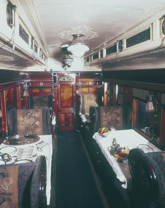 West Coast Joint Stock dining car No 76, c