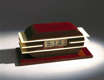 Electric digital clock, American, 1930.