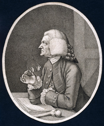William Hunter, British anatomist and obstetrician, 1780.