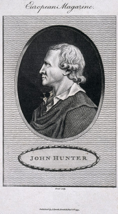 John Hunter, British surgeon and anatomist, 1793.