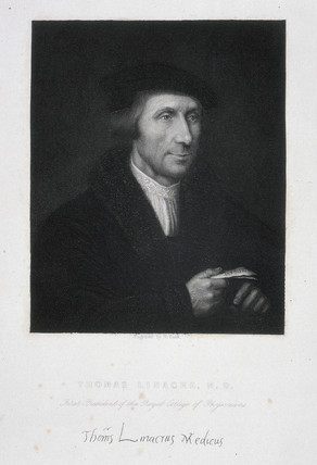 Thomas Linacre, English physician, c 1500.