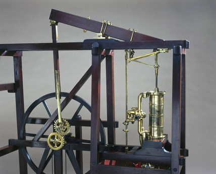 Boulton and Watt condensing engine, c 1800.