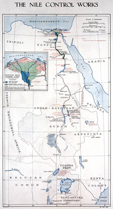 'The Nile Control Works', early 1920s.