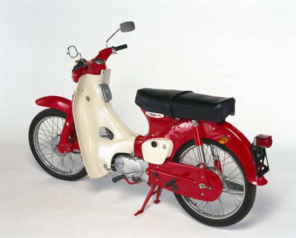 Honda C50 Motorcycle 1965 At Science And Society Picture