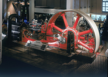 The Mill Engine, East Hall of the Science Museum, London, c 1996.