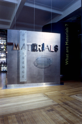 Challenge of Materials gallery, March 1998.