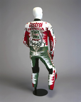 Protective suit for motorcyclists, 1996.