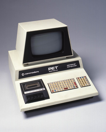 Commodore Pet personal computer, c 1980.