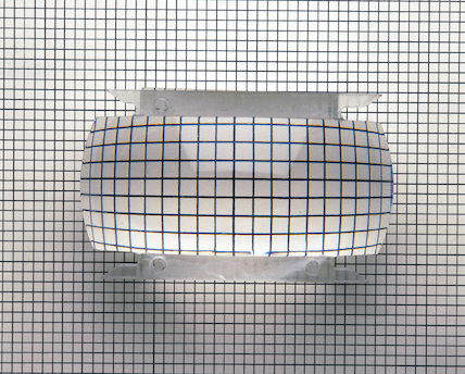 Optical effect of a convex lens, c 1990s.