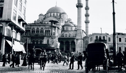 A mosque in Istanbul, Turkey, c 1910s. at Science and ...