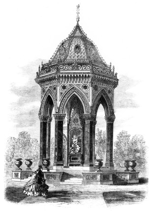 Victoria Park drinking fountain, London, 1862.