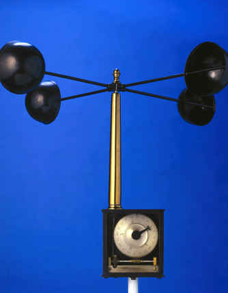 Four-cup anemometer, 1846.