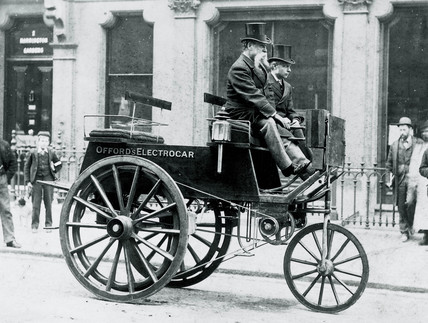 Offord's 'Electrocar', 1896.
