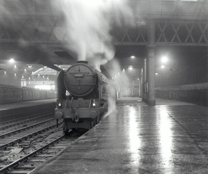 Glasgow Queen Street station, 6 July 1960.