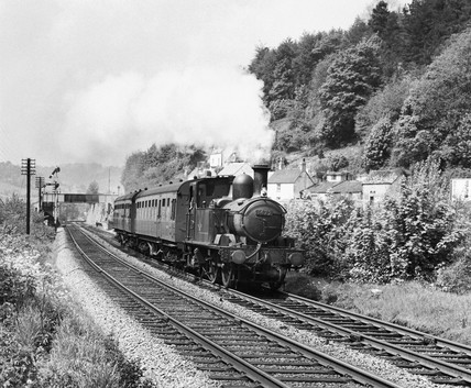Steam locomotive, 25 May 1963.