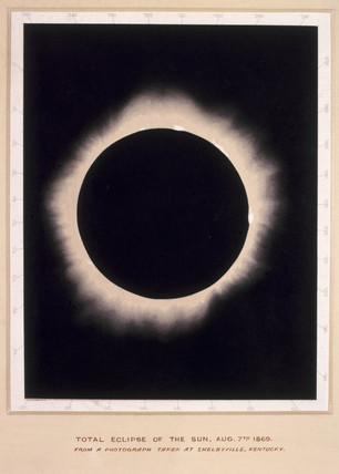 Eclipse of the Sun, 7 August 1869.
