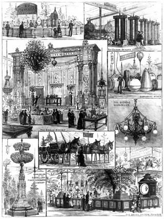 International Electric Exhibition, Crystal Palace, London, 1882.
