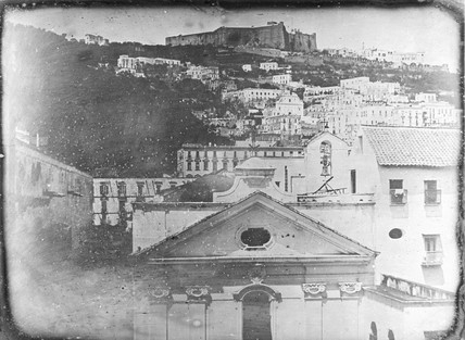 'Naples, View from the North window...', 1841.