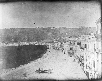 'Naples, No 1, Panoramic View from the West', 22 May 1841.