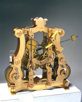 Mechanism from a turret clock, English.