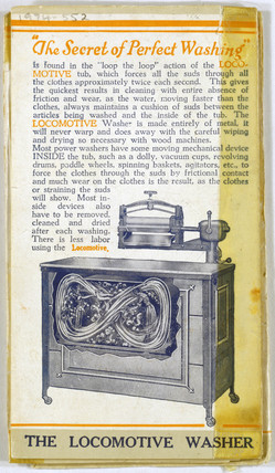 'The Secret of Perfect Washing', 1929.