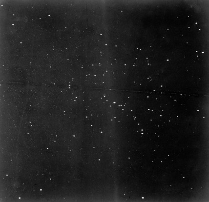 Star cluster, 1885.