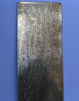 Sample of silver, c 1890.