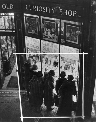 The Old Curiosity Shop, c 1940s.