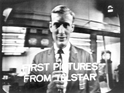 The first transatlantic TV picture from space, 1962.