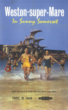 'Western-super-Mare', BR poster, 1961.