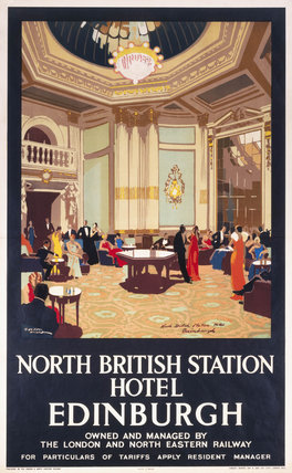 'North British Station Hotel - Edinburgh',