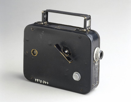 Cine Kodak Eight camera, model 20, American, c 1936.