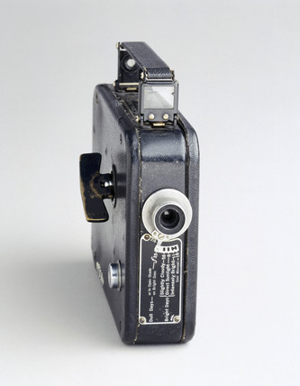 Cine-Kodak Eight camera, model 20, American, c 1936.