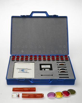 Diagnostic set used by The Corneal Laser Centre, 1997.