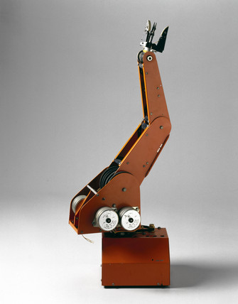 Armdroid robotic arm, 1981.