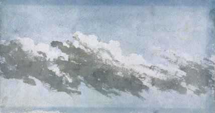 Cumulus blowing in high wind, c 1803.