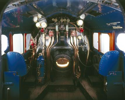 Cab Of The Mallard London Amp North Eastern Railway