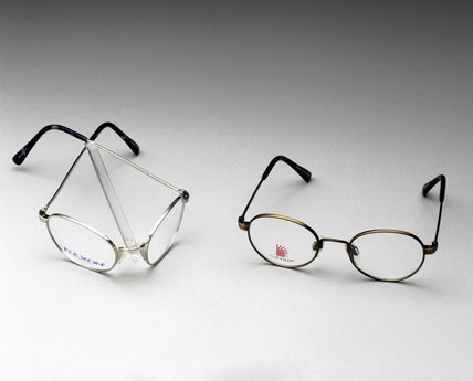 Flexon spectacles, c 1990s.