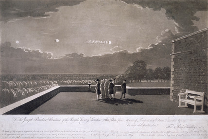 'The meteor of 18 August', 1783.