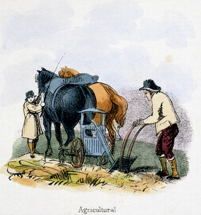 'Agricultural', c 1845.