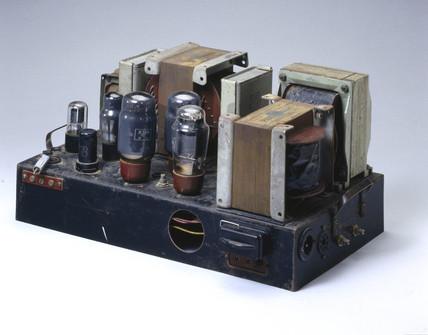 Williamson home constructed amplifier, c 1949.