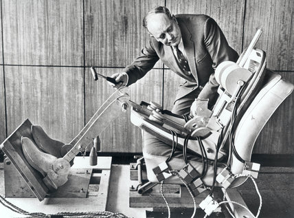 Robot test dummy, Ford Motor Company, c 1950s.