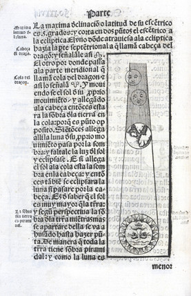 A lunar eclipse, 1551.