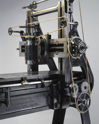 Whitworth's machine for planing metal, 1842.