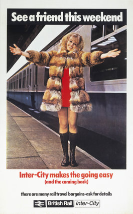 See a friend this weekend', BR poster, c.1970.